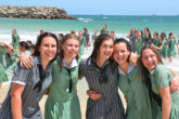 Year 12 Beach Swim 6