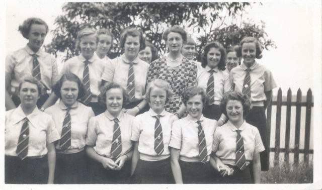 1919-Lynda-Colliver-Students-1941-Form-VI-with-Miss-Colliver