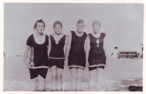 Margaret: second from left
