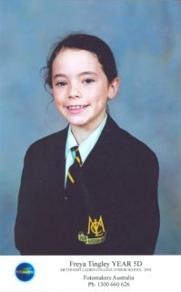Freya in Year 5
