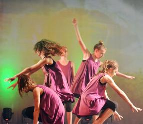 Book and Event - girls dancing